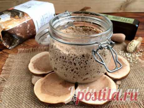 Вечная закваска для хлеба без дрожжей в домашних условиях | Простые рецепты с фото