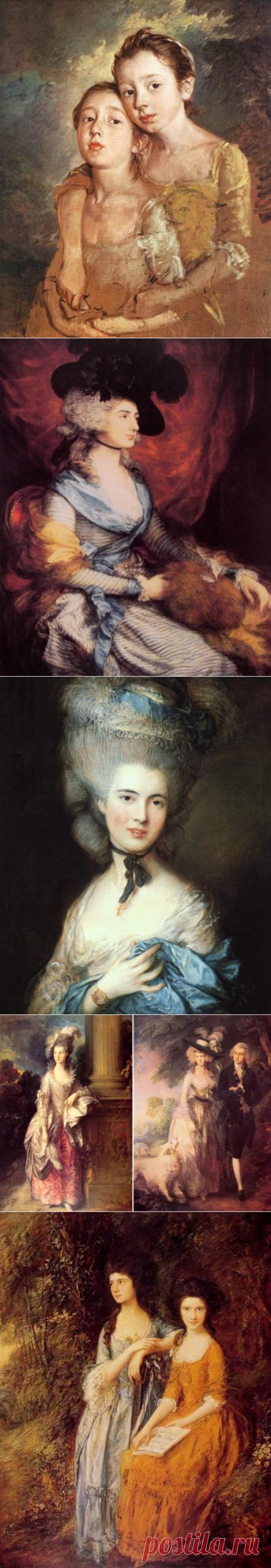 Тайны дамы в голубом: магия портретов Томаса Гейнсборо