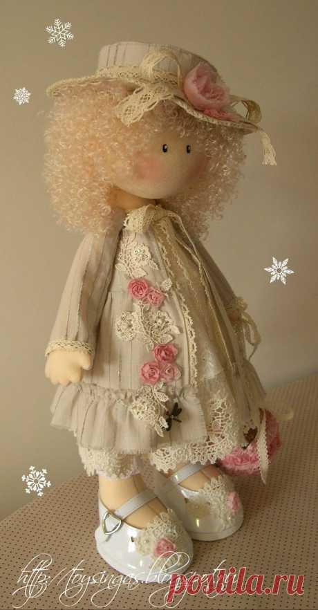 Винтажная куколка Инги Кисилевой
