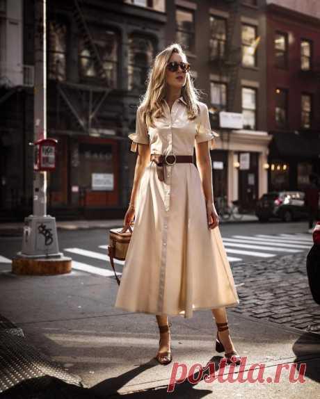 Шикарные платья на пуговицах / Все для женщины