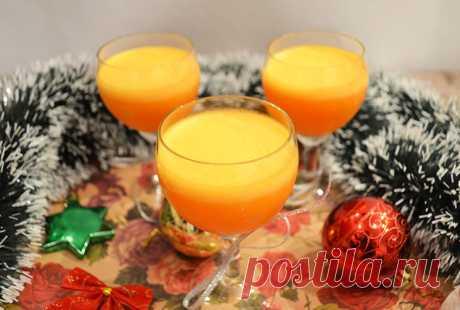Десерт Тыквенное желе с апельсиновым соком - Простые рецепты Овкусе.ру