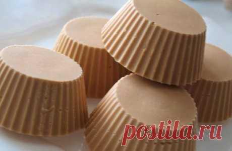 Творожное крем-брюле всего из 3х ингредиентов.