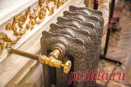 Как покрасить под бронзу советский радиатор отопления — Строительство и отделка — полезные советы от специалистов