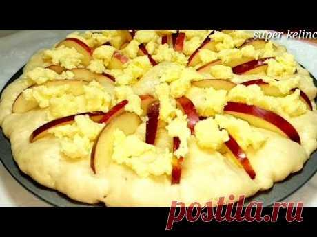 Нежнее любого Торта!🎂 Божественно Вкусный!💯 Знаменитый Яблочный Сахарный Пирог! Воздушный как Пух!