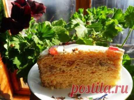 "La torta ""Молочная девочка"""