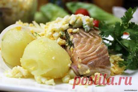 Лосось по-польски - Вторые блюда - Кулинарные рецепты ! - ФотоКулинария