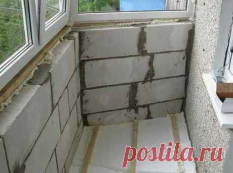 Ошибки при утеплении балкона