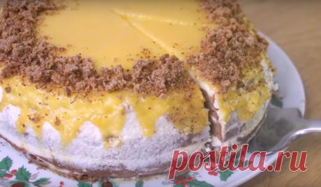 """Невероятно вкусный торт """"Солнышко"""" Предлагаем вам рецепт очень вкусного тортика. В его основе мы приготовим изумительно вкусный бисквит, в качестве пропитки будем использовать ароматный и нежный крем. Но особенную легкую кислинку и..."""