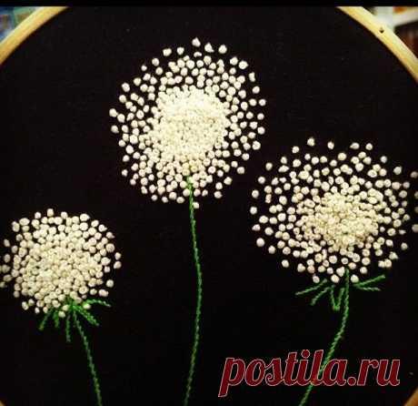 Узелковая вышивка на одежде (подборка) / Вышивка / ВТОРАЯ УЛИЦА