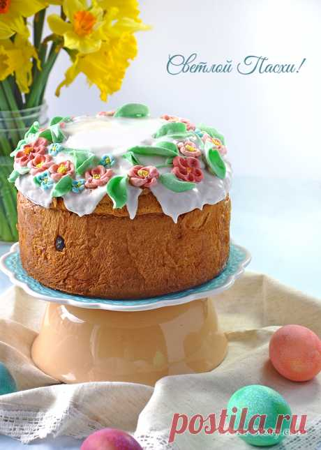 Gentle Easter cake with raisin - Mom Story