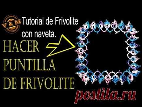 HACER PUNTILLA DE FRIVOLITE