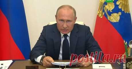 11.05.2020-Путин объявил о выходе из режима нерабочих дней — Российская газета