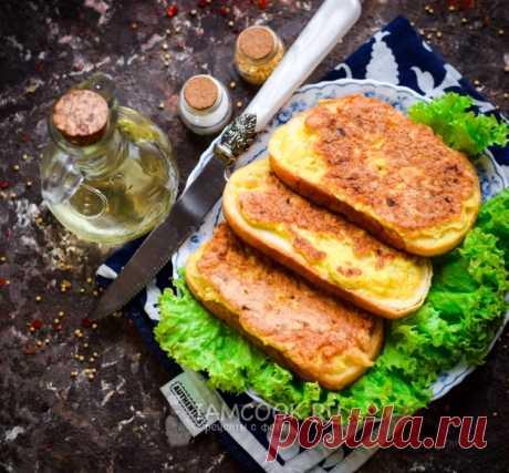 Жареные бутерброды с луком — рецепт с фото пошагово. Простые бутерброды на каждый день.