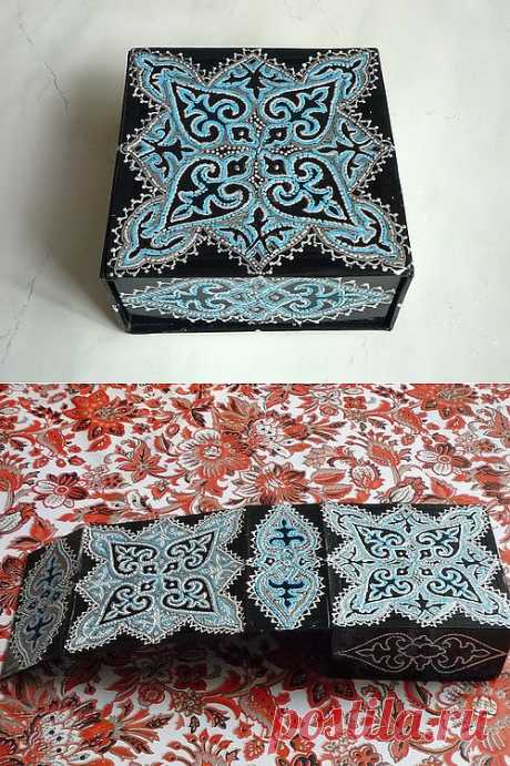 Шкатулка или коробок для мужского ремня. | Золотые Руки