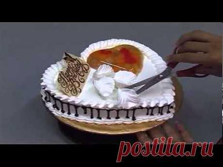 ▶ Украшение тортов 4 - YouTube