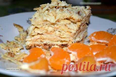 """Старинный рецепт вкуснейшего торта """"Наполеон"""" (оригинальный рецепт)."""