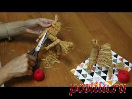 Мастер-класс по изготовлению куклы из липового лыка  «Богатырский конь».
