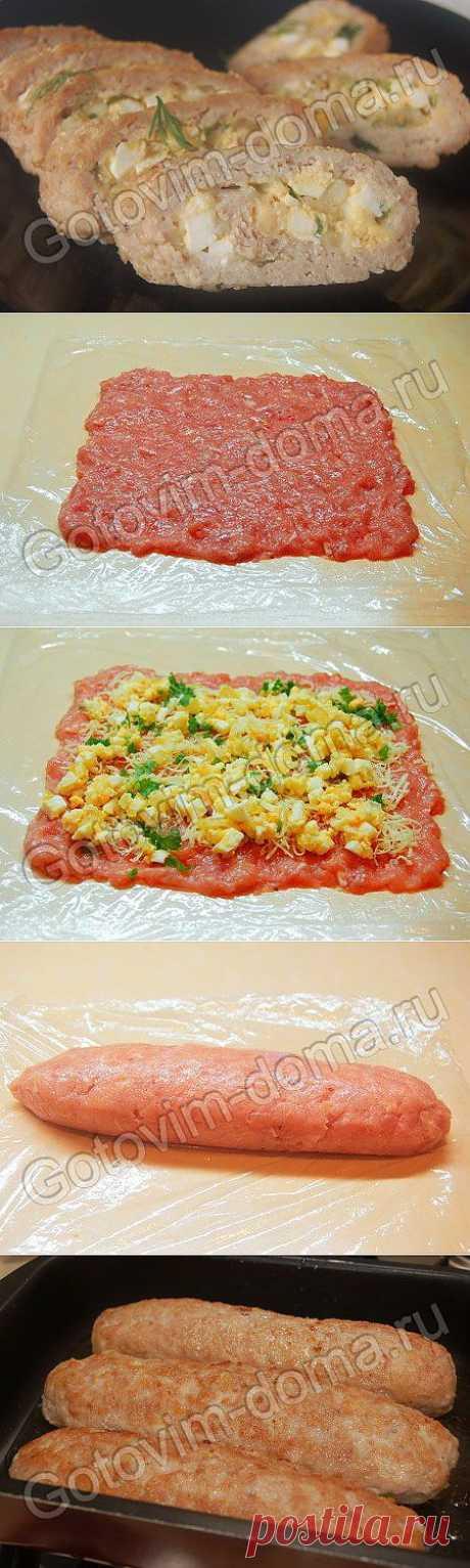 Рецепт: Колбаски куриные