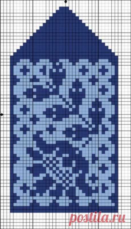 Схемки для варежек / Вязание спицами / Вязание для женщин спицами. Схемы вязания спицами