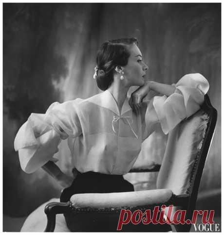 """GIGI""  1951 Lanvin  Photo Henry Clarke"
