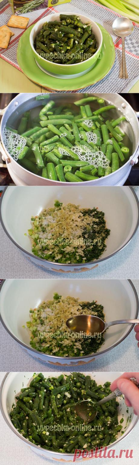 ✔️Салат из стручковой фасоли по-корейски с чесноком - как замариновать, рецепт с фото