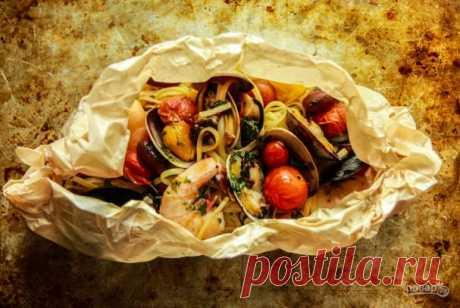 Паста из морепродуктов - пошаговый рецепт с фото на Повар.ру
