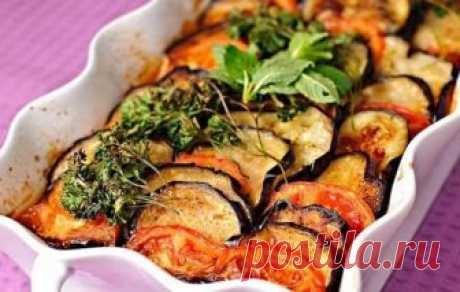 Мясная запеканка с баклажанами - лучшее в сезон овощей!