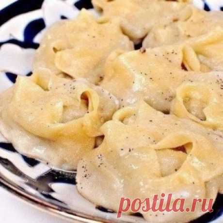 The correct manti — as cook them in Asia. Objedeniye