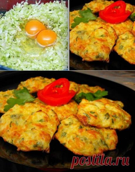 Изысканные и сочные капустные оладьи на кефире | В темпі життя