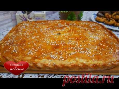 УНИВЕРСАЛЬНОЕ вкусное пресное тесто для пирогов\БЕЗДРОЖЖЕВОЕ ТЕСТО\Быстрый пирог с картошкой