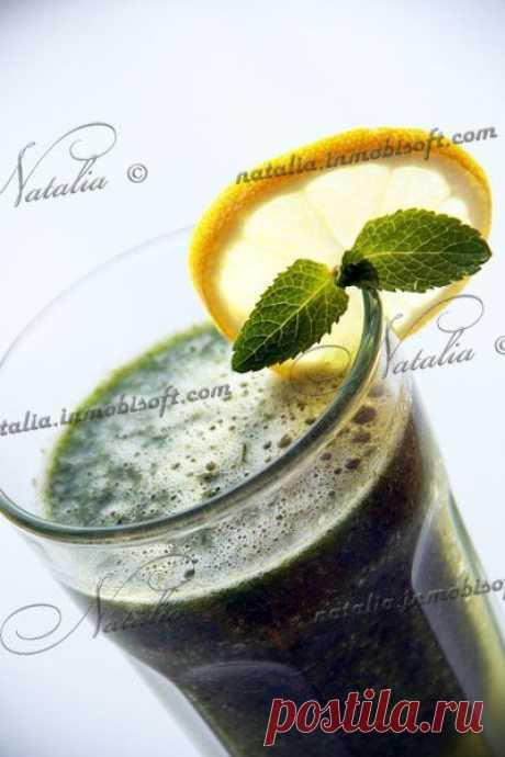 Зеленый коктейль   Natalia
