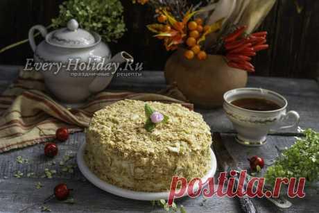 """Торт """"Наполеон"""" на сковороде, нереально вкусно и быстро"""