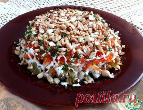 Куриный салат с арахисом – кулинарный рецепт