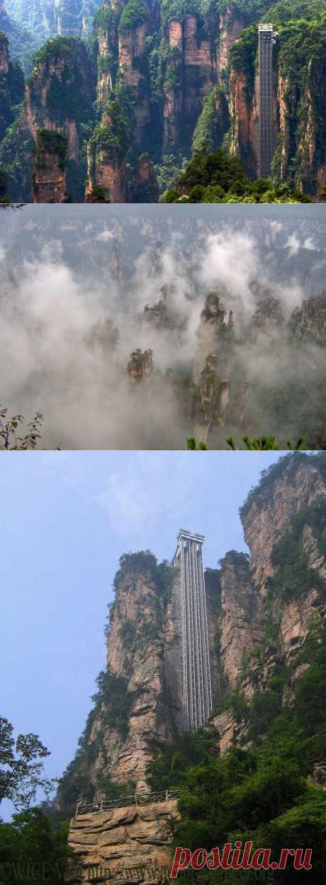 masterok: Самый высокий открытый подъемник в мире — Лифт Ста Драконов