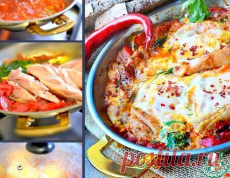 Шакшука с мясом – кулинарный рецепт