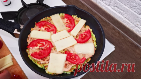 Хоть на завтрак, хоть на каждый день - пицца из кабачков за 10 минут. Съедают все, сколько бы не готовил - делюсь рецептом | Латте | Яндекс Дзен