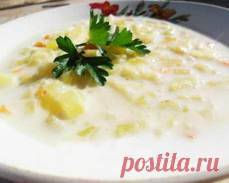 Молочная салма (татарский суп)