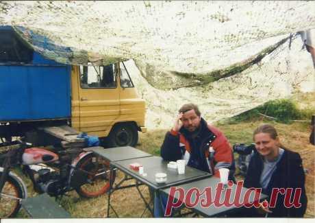 Дарлово 2002 Немец и его летчица