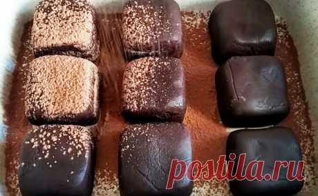 Домашние трюфельные конфеты - Лучший сайт кулинарии