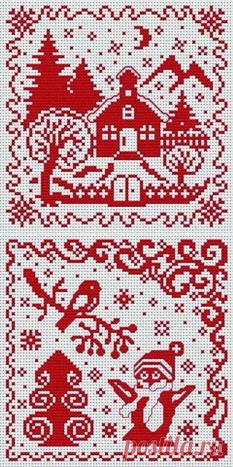 Подарок от Юлии Ж / Вышивка / Схемы вышивки крестом