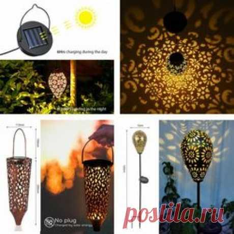 5 отличных садовых ламп с AliExpress Освещение двора никогда не являлось какой-то прихотью, простым желанием создать в своём дворе и саду особенную атмосферу, это так же вопрос безопасности в тёмное время суток, а с наступлением осени темнеет гораздо раньше. В нашей сегодняшней подборке товаров мы собрали для вас красивые уличные фонари, для освещения садовых дорожек, а так невероятно полезные лампы с датчиком движения! Резные уличные лампы. Цена: от 1434,52 руб. (проверит...
