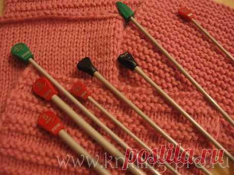 Спицы для вязания, какими они бывают - Электронный журнал по вязанию на спицах