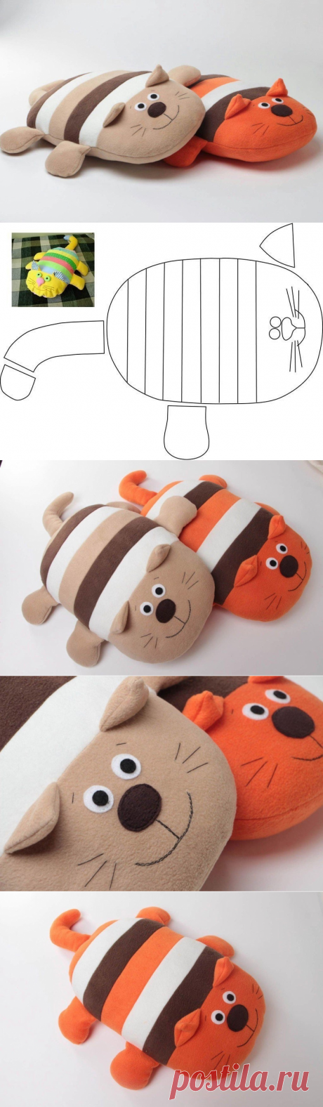 Lovely cats: pillow toys