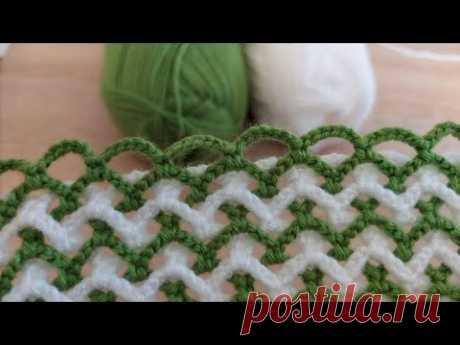 Super Easy Crochet Knitting - Tığ İşi Şahane Örgü Modeli