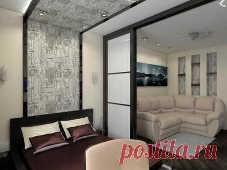 Зонирование комнаты на спальню и гостиную: рекомендации дизайнеров | Рекомендательная система Пульс Mail.ru