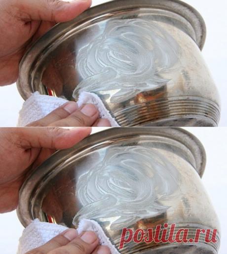 Смешав эти 2 компонента, ты получишь блестящее средство для чистки посуды. Всегда пользуюсь!