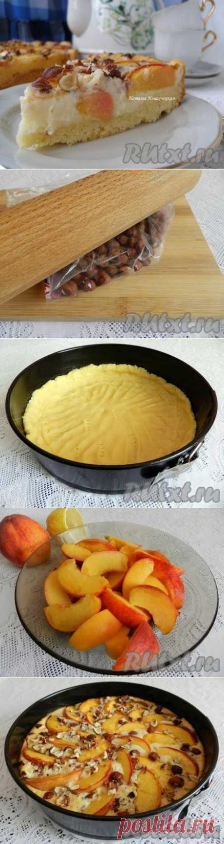 Персиковый пирог с маскарпоне (рецепт с фото) | RUtxt.ru