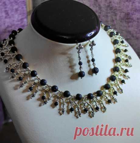 """Роскошное ожерелье """"Silvia"""""""