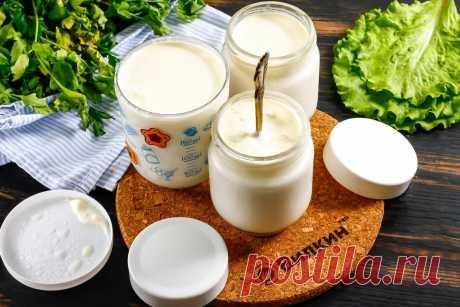 Греческий йогурт - основа многих соусов, десертов, заправок для салатов (научилась наконец-то его готовить)   Вилкин 👩🍳: рецепты и лайфхаки   Яндекс Дзен