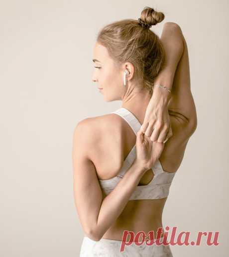 Упражнение для красивой спины